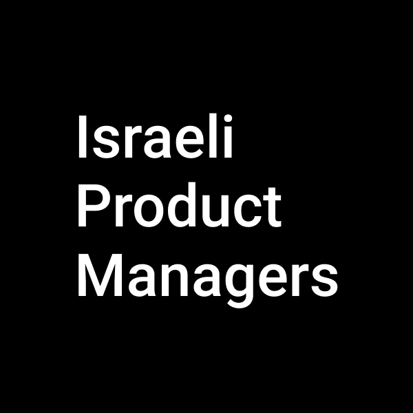 Israeli Product managers ||Witty Panel
